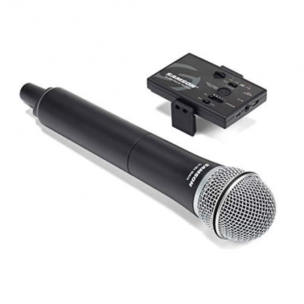 Le micro Go Mic Mobile Handheld SWGMMSHHQ8E de Samson, le matériel professionnel