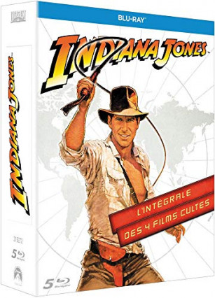 Les quatre films Indiana Jones