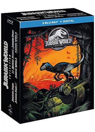 Le coffret Jurassic World collection, de Jurassic Park à Fallen Kingdom