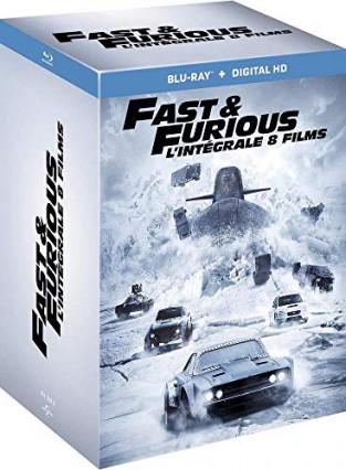 L'intégrale des 8 films Fast and Furious