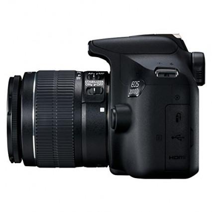 Le reflex Canon EOS 2000D, pour commencer sans se ruiner