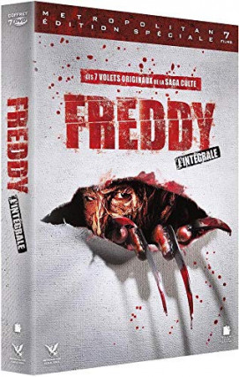 L'intégrale en DVD de Freddy, les griffes de la nuit