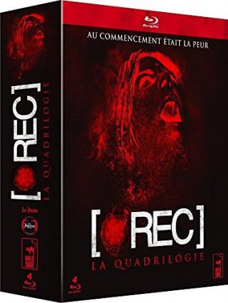 L'intégrale de Rec en Blu-ray, l'horreur en espagnol