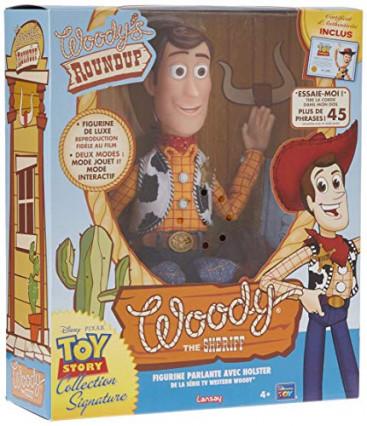 Une figurine à taille réelle de Woody