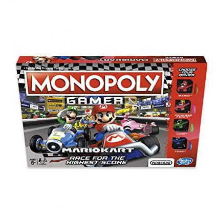 Le Monopoly Gamer Mario Kart, le jeu de plateau qui va vite