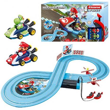 Le circuit Mario Kart de Carrera, pour faire de vraies courses