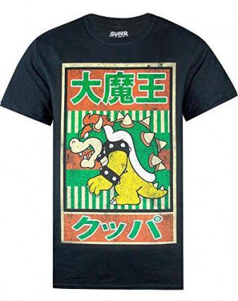 Le t-shirt vintage japonais à l'effigie de Bowser