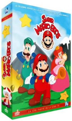 L'intégrale en deux coffrets de la série de dessin animé Super Mario Bros