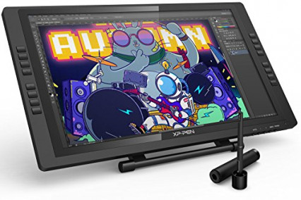 La tablette graphique Artist E22Pro XP-Pen, grand écran et petits boutons