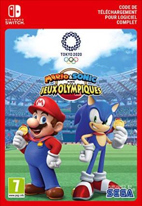 Mario & Sonic aux Jeux Olympiques de Tokyo 2020, le jeu vidéo sur Switch