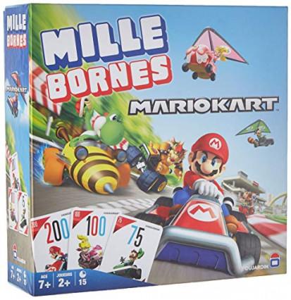 Le jeu de Milles Bornes Mario Kart, le classique de Dujardin aux couleurs de Nintendo