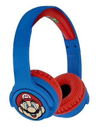 Le casque audio sans fil pour enfant OTL Technologies à l'image de Mario