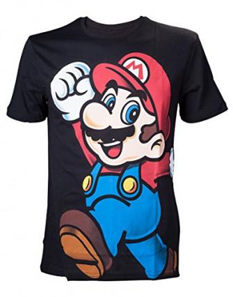 Le t-shirt Super Mario, sobre et élégant