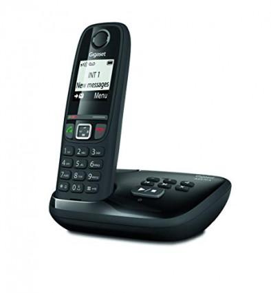 Le téléphone fixe Gigaset AS470, la base solo pour un téléphone d'appoint