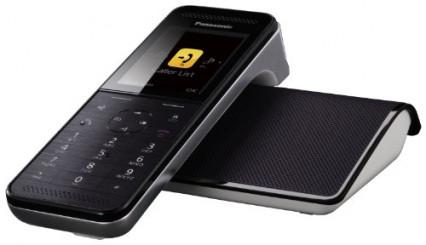 Le téléphone fixe Panasonic KX-PRW120 avec répondeur à écran