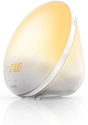 Le réveil lumineux Philips HF3510/01, pour se réveiller avec le soleil