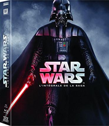 L'intégrale des deux premières trilogies Star Wars en Blu-ray