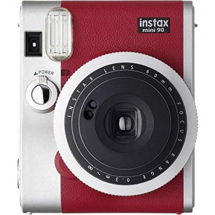 L'appareil photo instantané Fujifilm Instax Mini 90 Rouge, le passé moderne