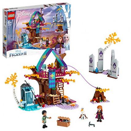 La cabane enchantée dans l'arbre issue du film la Reine des Neiges 2 en LEGO