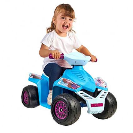 Le quad moto La Reine des Neiges 2, pour se déplacer avec style
