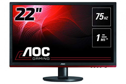 """L'écran de PC AOC G2260VWQ6, le 22"""" performant pour un entrée de gamme"""
