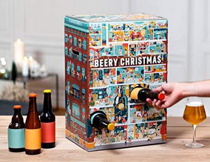 Le calendrier de l'Avent à bière