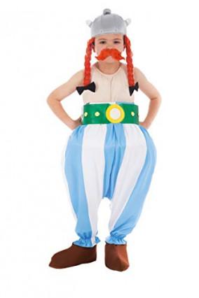 Le déguisement Obélix pour enfant, tresses incluses