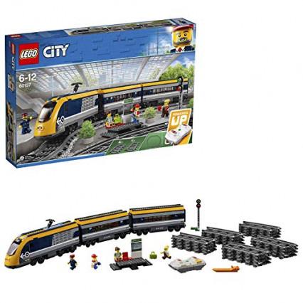 Lego City, le train de passagers télécommandé