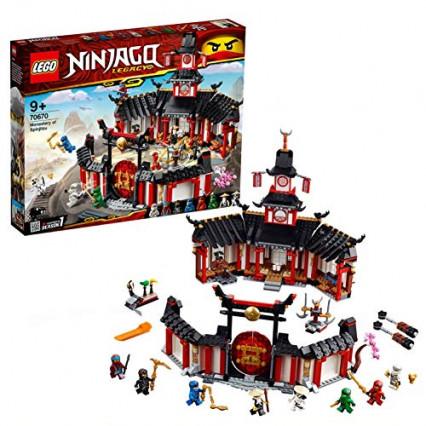 Lego Ninjago, le monastère de Spinjitzu
