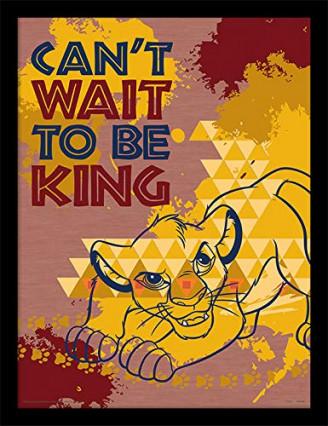 Le cadre le Roi Lion pour décorer une chambre