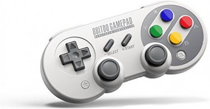 La manette de jeu sans fil Bluetooth 8Bitdo SF30, pour jouer à l'ancienne
