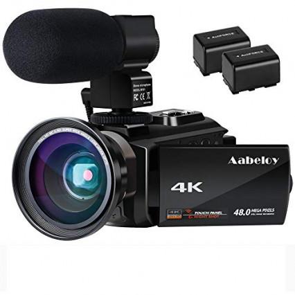 Caméscope 4K Aabeloy
