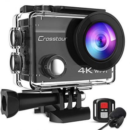 L'action cam 4K Crosstour CT8500