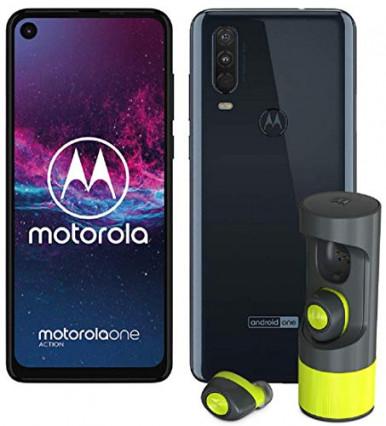 Smartphone Motorola One Action Gris Bleuté