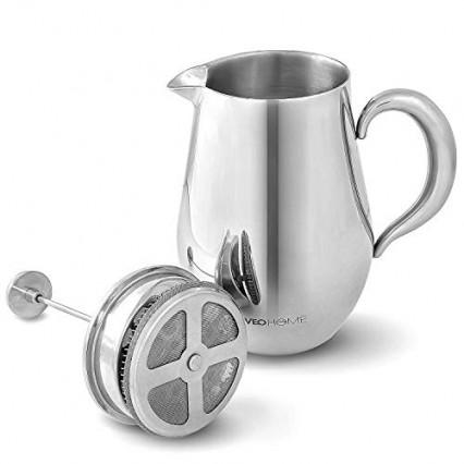 Une cafetière à piston