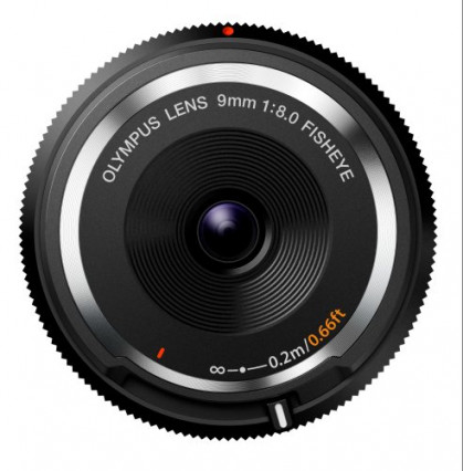 L'Olympus 9 mm pour l'effet Fisheye