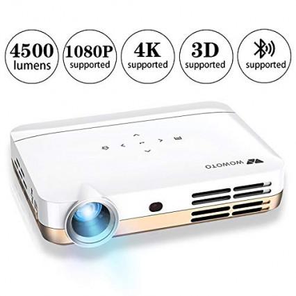 Le projecteur Wowoto H10, support 4K