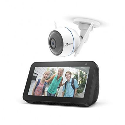 Le pack Echo Show 5 + caméra de surveillance ezTube Ezviv