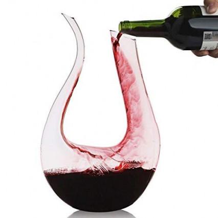 La carafe à décanter le vin