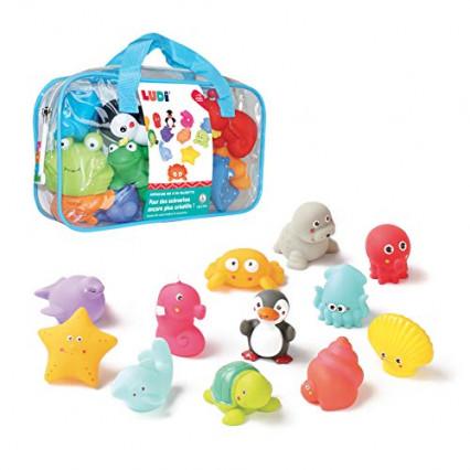 Les jouets de bain Ludi, pour se laver tout en s'amusant