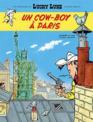 Les Aventures de Lucky Luke, tome 38 : Un cow-boy à Paris