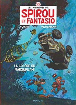 Spirou et Fantasio, tome 35 : La colère du Marsupilami