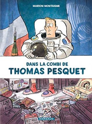 Dans la combi de Thomas Pesquet, par Marion Montaigne