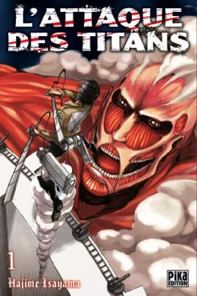 L'Attaque des Titans, tome 1, d'Hajime Isayama