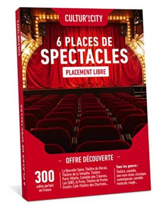 Une box CULTUR'in The City avec six places de spectacle dans toute la France