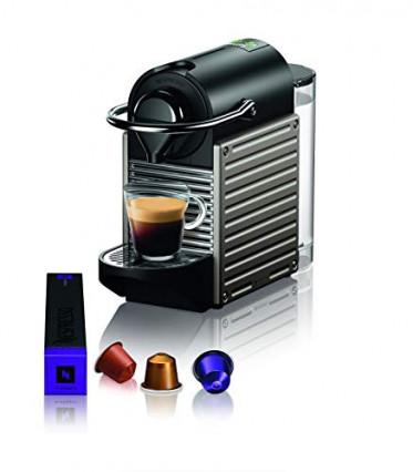 La machine à café expresso Nespresso Krups Pixie Titane
