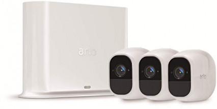Le lot de 3 caméra de surveillance avec Cloud Arlo Pro 2