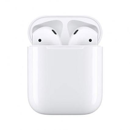 Écouteurs Apple AirPods avec boîtier de charge
