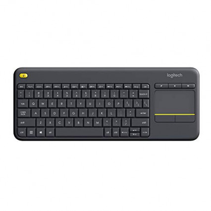 Le clavier sans fil avec pavé tactile Logitech K400 Plus