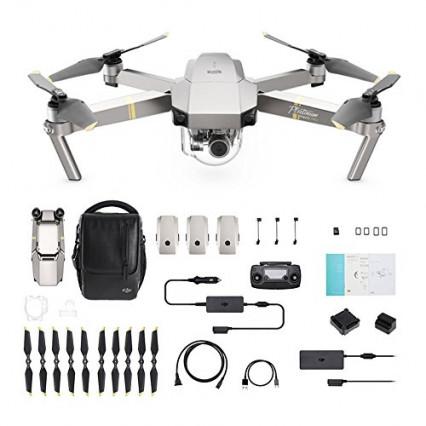Le drone DJI Mavic Pro Fly More Combo Platinum